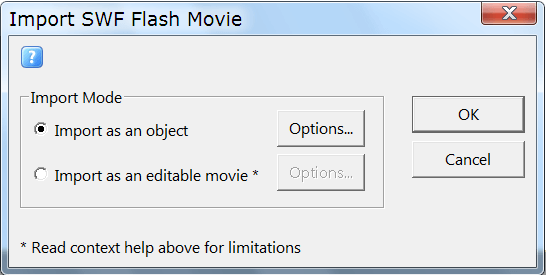 Convert Swf Flash to Html5 using KoolMoves